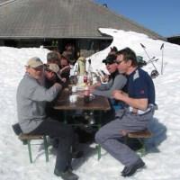 Clubhütte räumen vom 10.04 2009