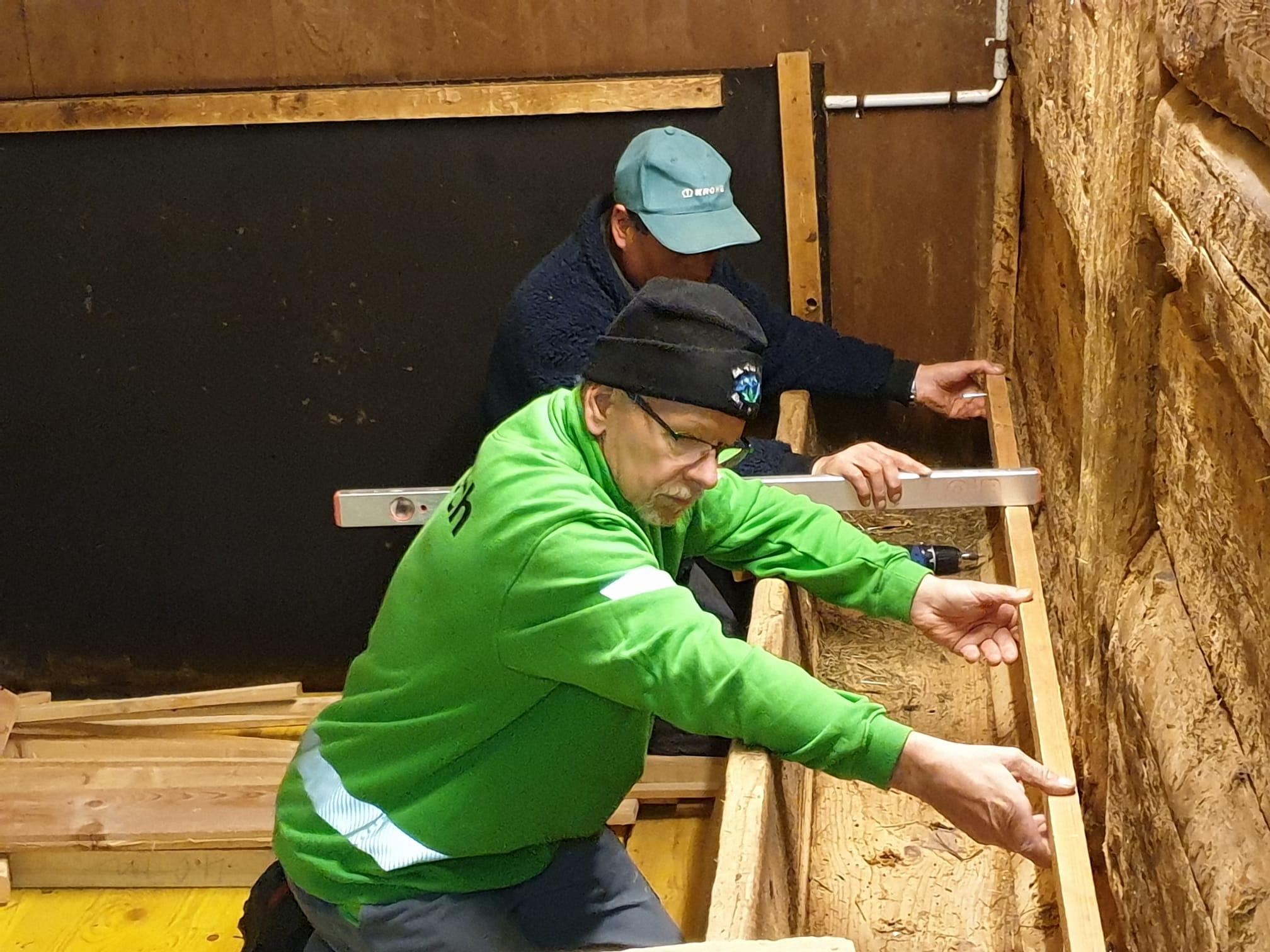 Holzen vom 08. Oktober 2020 + Klubhütte einrichten vom 17. Oktober 2020