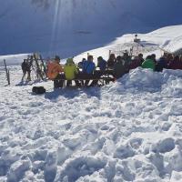 Jugendskitage / rund und um die Clubhütte Januar 2017