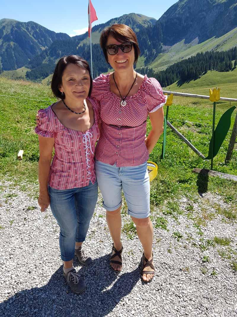 Salzmatthütte im Sommer vom 11.08.2019