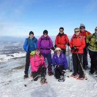 Schneeschuhtour, le Cousimbert vom 23.01.2016